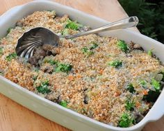 Pioneer Woman's Broccoli Wild Rice Casserole, one of 12 Best Recipes of 2013 from A Veggie Venture