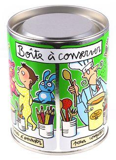Boîte à conserver - Valérie Nylin pour Raynal & Roquelaure - série limitée 2001