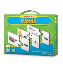 This visual learn-to-read game by the Learning Journey includes 30 self-correcting puzzle pairs to assemble the words. Manufactured by The Learning Journey. Learning To Read Games, Reading Games, Pre Primer Sight Words, Sight Words List, Letter N Words, Spelling Words, Planets Preschool, Phonics Rules, Flashcards For Kids