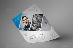Buy Corporate Flyer Template by MONOGRPH on GraphicRiver. Corporate Flyer Template Hello Thank for Purchasing . Handwritten Script Font, Corporate Flyer, Flyer Template, Ads, Templates, Stencils, Western Food