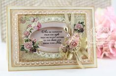 Spellbinders Detail Scallops, Floral Ovals, Radiant Rectangles - Him in our Heart - www.amazingpapergrace.com