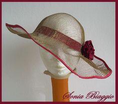 cappello con rete del fiorista