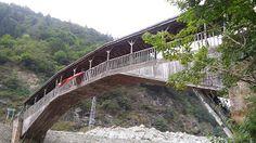 sap ya da saman: Hapsiyaş Köprüsü ( Kiremitli köprü ) Of - Trabzon