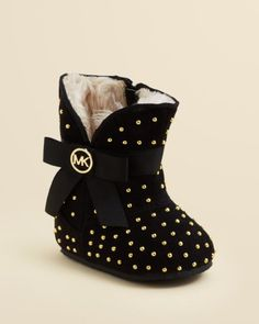 MICHAEL Michael Kors Infant Girls' Grace Studded Boot - Baby | Bloomingdales's