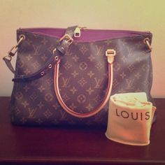 a9a3ba664effe Louis Vuitton Amethyst Pallas Handbag The Pallas is so much more than a  chic bag.