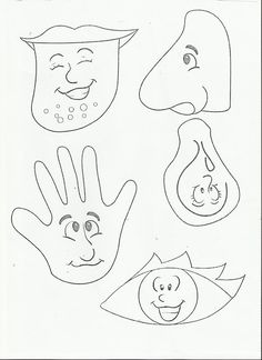 5 senses worksheet for kids (1)      Crafts and Worksheets for Preschool,Toddler and Kindergarten
