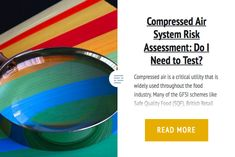 Compressed Air System Risk Assessment: Do I Need to Test?