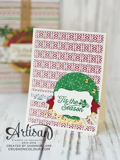Hello friends, and welcome back for another Artisan Design Team blog hop - we are the official design team of Stampin' Up!, and we're thrill...