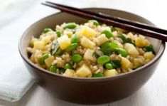 Pineapple-Ginger Rice with Edamame   Whole Foods Market