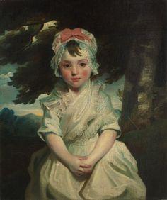 Joshua Reynolds - Georgiana Augusta Frederica Elliott, Later Lady Charles Bentinck 1784
