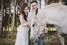 bridal hair, bridal photos, boho bride, horses whimsical, romantic wedding