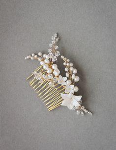 YVES pearl bridal comb_1