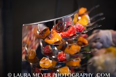 Spoon Wall by Popolanos Catering