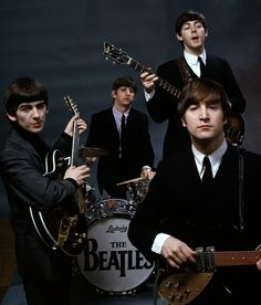 The Beatles, February 1964. Photo by John G. Zimmerman.