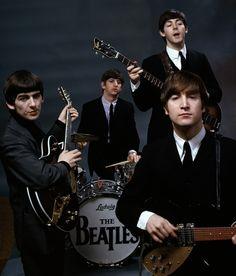 The Beatles, February 1964. Photo by John G. Zimmerman.