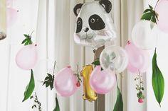 ballon blanc: 1º Aniversário da babe#2