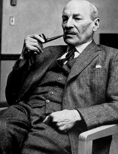 Clement Atlee - Labour leader during the war. Serving as Deputy Prime Minister under Churchill, after the end of the war he was appointed Prime Minister of the United Kingdom from 1945-1951.