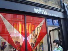 London Melissa  Pop up Store
