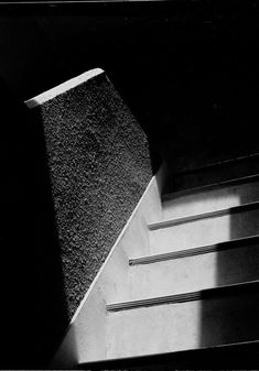 Image by Ralph Gibson: Staircase is an example of Gibson's high-contrast, minimalist black and white compositions that have influenced a generation of photographers. By isolating the essential elements of a scene, his pictures show a style that is unique and immediately recognisable.