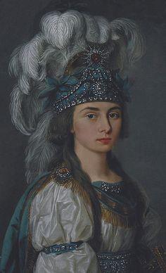 PRASKOVIA KOVALIOVA 18TH CENTURY RUSSIAN ACTRESS | Flickr: partage de photos!
