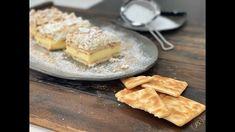 Το καλύτερο μιλφέιγ θα το βρεις σε αυτή την συνταγή και θα το φτιάξεις μέσα σε 10 λεπτά, θα πετύχεις την πιο αφράτη και γευστική κρέμα που θα σου θυμίσει το κλασικό μιλφέιγ της γιαγιάς με τον πιο εύκολο και γρήγορο τρόπο! No Bake Desserts, Dessert Recipes, Camembert Cheese, Pie, Pudding, Cooking Recipes, Sweets, Baking, Food