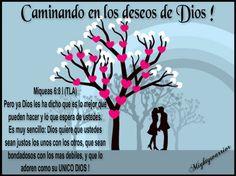 JESUS PODEROSO GUERRERO: Caminando en los deseos de Dios !