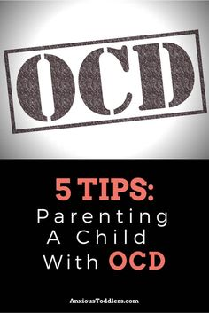 Parenting a child with OCD can be a challenge. Learn these 5 tips from a child therapist on how to help your child with OCD. Ocd In Children, Anxiety In Children, Ocd In Kids, Ocd In Toddlers, Adult Children, Parenting Teens, Parenting Advice, Foster Parenting, Psicologia