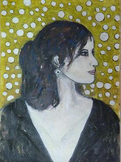 Sophia. Painting  of Piero Petillo