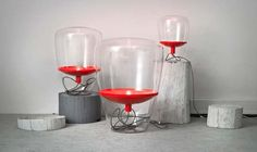 Ballong and muffins lamps