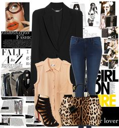 """""""College Look"""" by na3omiii ❤ liked on Polyvore"""
