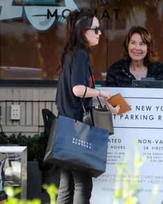 Dakota Johnson Photos Photos - Actress Dakota Johnson was seen out doing some shopping at Barney's New York in Beverly Hills, California on March 24, 2017. The '50 Shades' star is in an upcoming horror film 'Suspiria' due out later this year. - Dakota Johnson Shops At Barney's New York