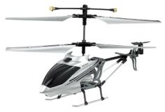 i-helicopter i-400 Controlled by iphone/ipad/ipod (silver) with Mini Tool Box (fs) . $134.99. The i-helicopter makes it possible to use your iPhone, iPad or iPod Touch as a remote control for a RC Helicopter! Plug the transmitter in the audio jack, download the free controller App from the Appstore or Andrioid marketplace and you are ready to fly! 2 EXTRA ROTORS + 2 EXTRA TAIL ROTORS ARE INCLUDED! USB CHARGER INCLUDED! Motion control or thumb control The i-helicopter h...