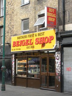 Must Eat! Brick Lane Beigel Shop, London. My husband and I LOVE bagels!! We eat them almost everyday and we also very much enjoy trying new and inventive types of bagels and bagel sandwiches ! This bagel shop seems to hit the nail on the head ! I would absolutely have to try some bagels from here ! I want to see what London beigels are all about!