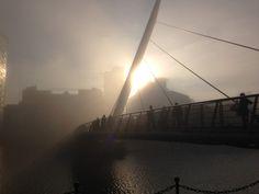 Fog in Canary Wharf