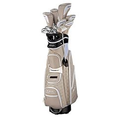 Adams Ladies Golf Idea A12OS Sandstone Integrated Set (Right-Hand, Ultralite Graphite, Ladies Flex)