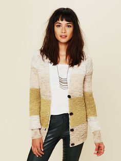 Free People Rugby Stripe Sweater, $128.00