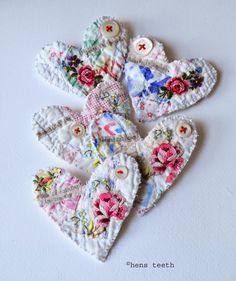 sachet idea for Libby's robe, other old sentimental clothing.