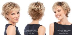 New pictures from the recent Jon Renau photo shoot of the popular wig style Jazz by Jon Renau