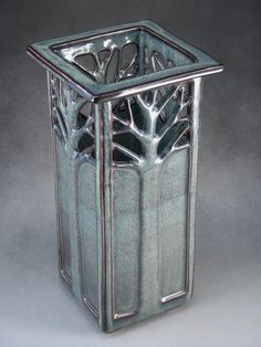 Tree vase - grayish green - some work - Gallery - Ceramic Arts ...