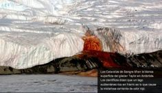Cataratas de Sangre y otras rarezas naturales - Cachicha.com