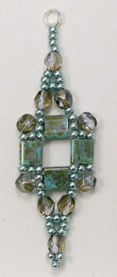 Deb Roberti's Tila Squared Earrings