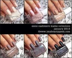A Beautygeeks Essie Cashmere Matte Giveaway! - Beautygeeks