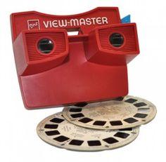 View-Master es un dispositivo visualizador de discos con 7 imágenes estereoscópicas, como diapositivas, que ha hecho ver las imágenes distintas y con una sensación de de profundidad desde hace décadas.
