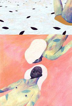 Owen Gent's Whimsical Yet Melancholy Illustrations | Hi-Fructose Magazine