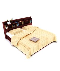 Housefull Calino Queen Size Bed with Storage Queen Size Bedding, Bed Storage, Queen Beds, It Is Finished, Room, House, Stuff To Buy, Furniture, Free Shipping