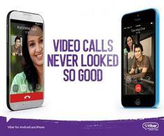 L'application Viber sur android a reçu la mise à jour 5.0 ajoutant possibilité d'effectuer des appels vidéos en haute définition.