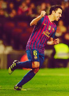 Xavi Hernandez, FC Barcelona.
