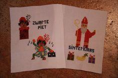 Borduurpatroon Zwarte Piet - Klik op de afbeelding om het venster te sluiten