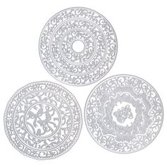 Buy Tonic Verso Christmas Set of 3 Dies from CreateAndCraft. Create And Craft Tv, Christmas Settings, Decorative Plates, Projects, Fun, Gifts, Home Decor, Log Projects, Favors