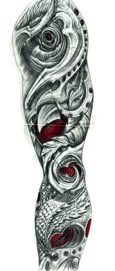 Biomechanical arm by sarcovenator on @DeviantArt